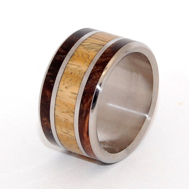 MEET ME | Ancient Kauri & Desert Ironwood - Men's & Women's Wedding Rings - Minter and Richter Designs