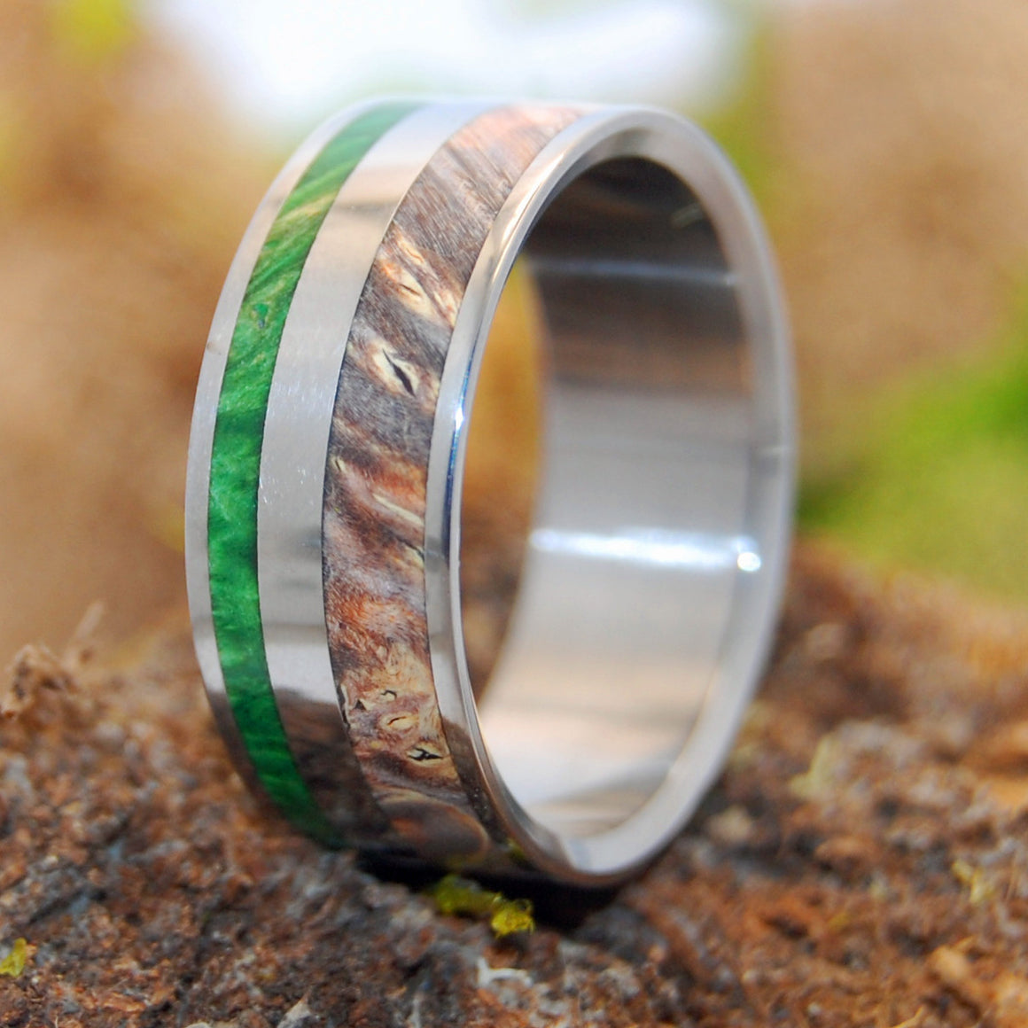 Spring Eternal | Wooden Wedding Band