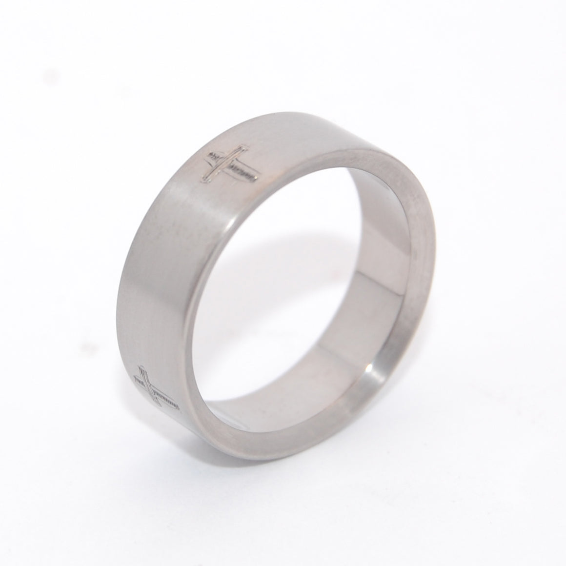 The Way, The Truth, and The Life | Engraved Titanium Wedding Ring