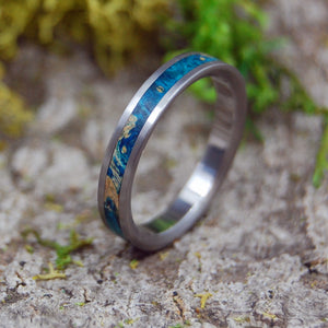 Handcrafted Women's Titanium Wedding Rings | STARRY STARRY NIGHT - Minter and Richter Designs
