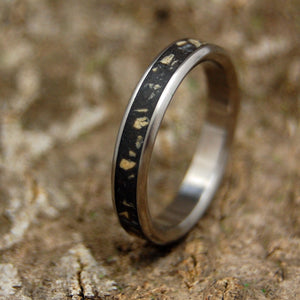 Women's Ring Stones of Bethlehem | Israel Titanium Wedding Ring