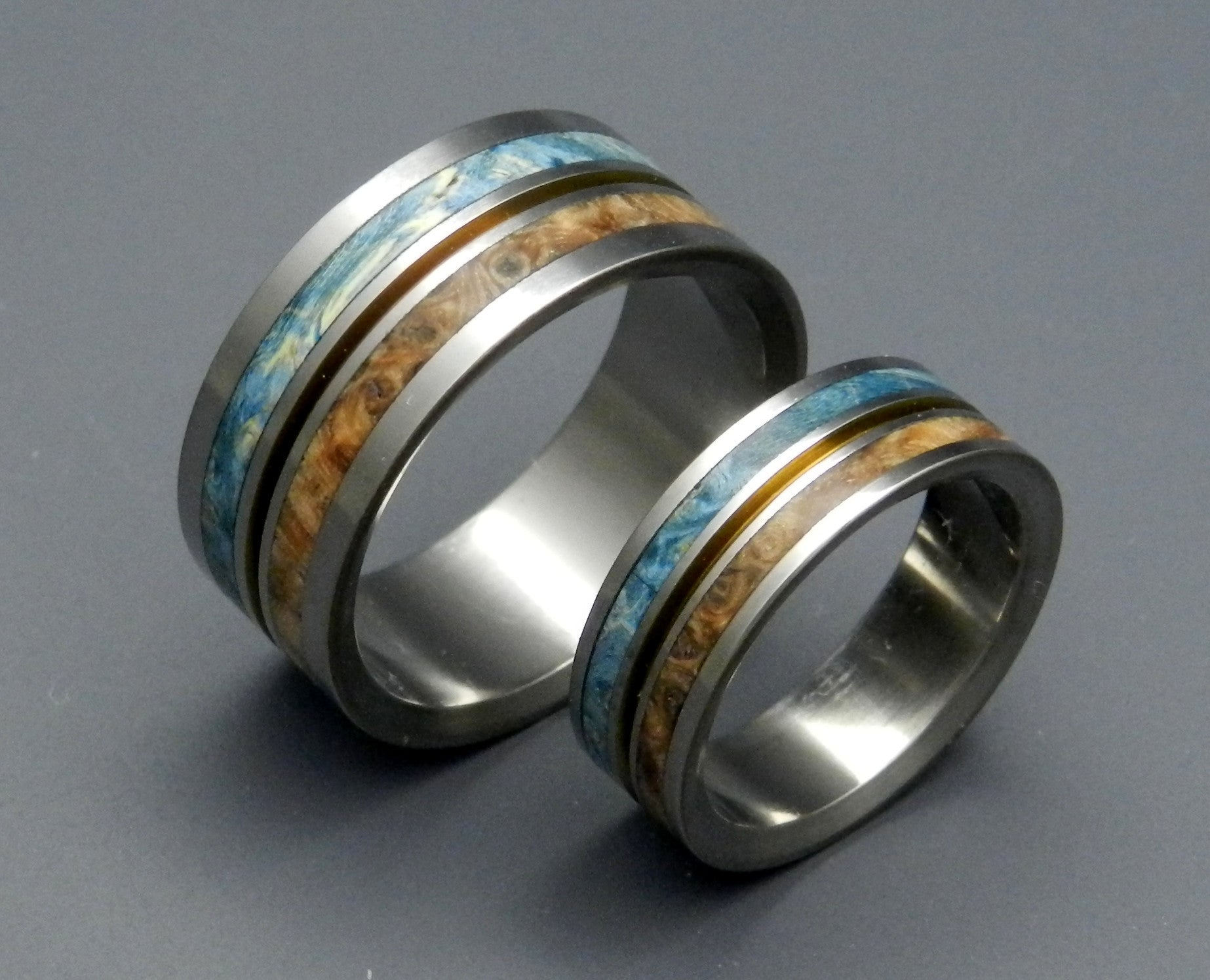 wooden wedding rings - Wooden Wedding Rings