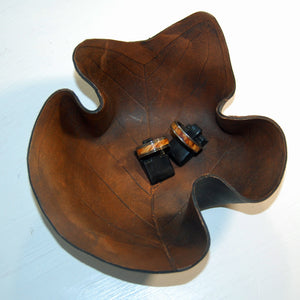 Sweet Gum Tree Leaf Ring Bowl