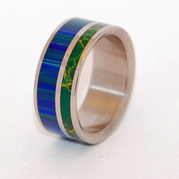 Til The End | Stone Wedding Ring - Minter and Richter Designs