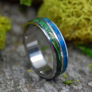 Handcrafted Men's and Women's Titanium Wedding Rings | TOGETHER TRUE - Minter and Richter Designs