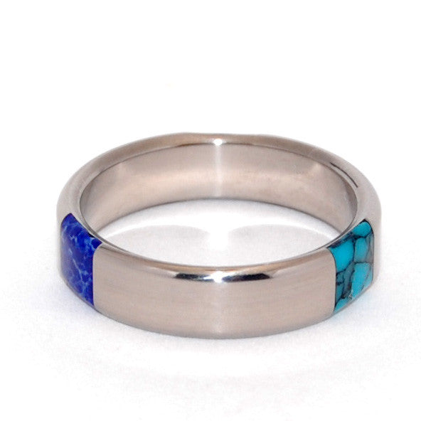 turquoise wedding rings - Turquoise Wedding Rings