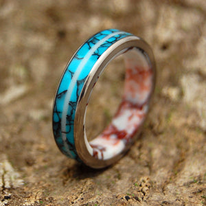 Women's Wedding Ring - Turquoise Ring | TURQUOISE STALLION