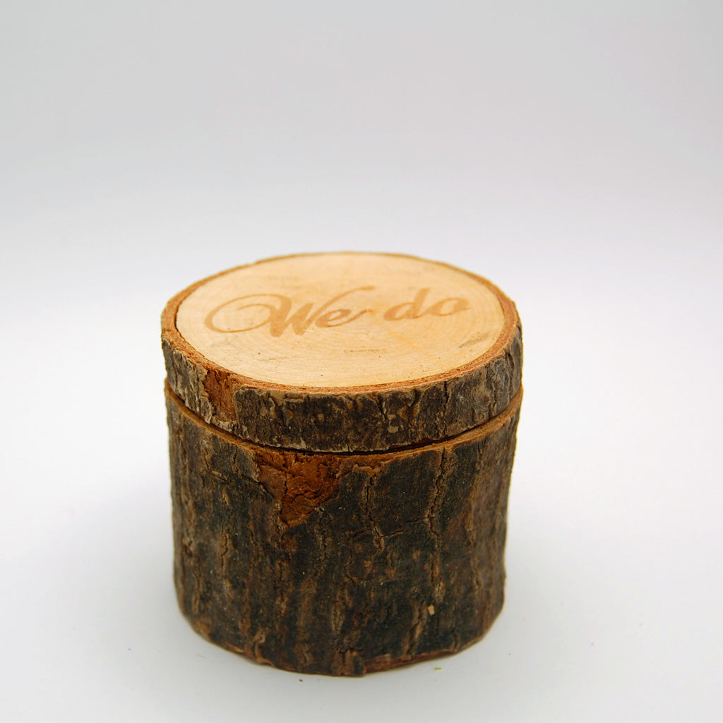 We Do Rustic Ring Box