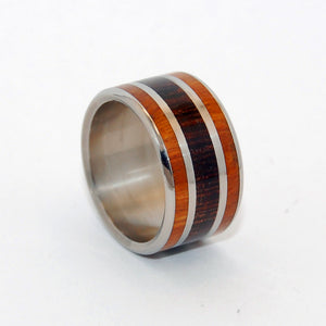 In the Wenge Woods | Handcrafted Wooden Wedding Ring