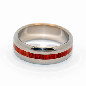With Your Heart | Wooden Wedding Ring