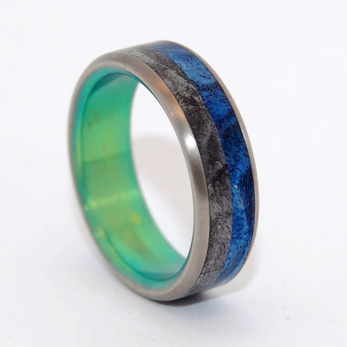 With You | Wood and Titanium Wedding Ring - Minter and Richter Designs