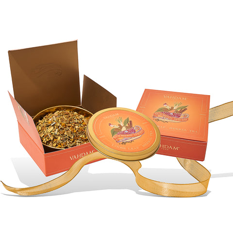 Turmeric Spiced Herbal Gift Set- 1 Tin Caddy