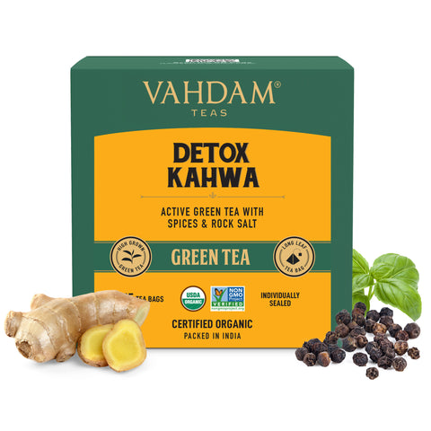 Detox Kahwa Green Tea Bags - 5 Days Pack