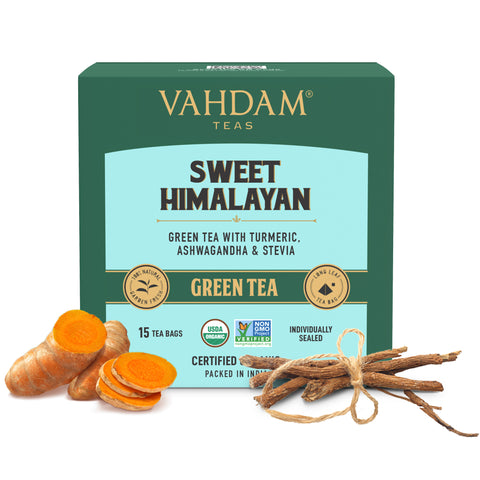 Sweet Himalayan Green Tea - 15 Tea bags