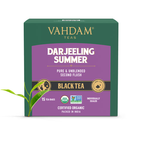 Darjeeling Summer Black Tea - 15 Tea Bags
