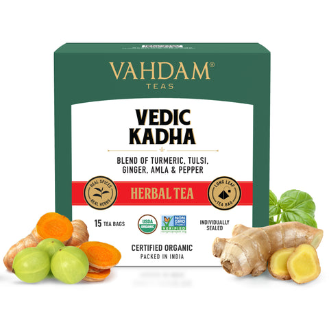 Vedic Kadha Herbal Tea - 5 Days Pack