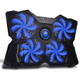 MARVO FN-30 Laptop Powerful Gaming Cooling Pad Blue