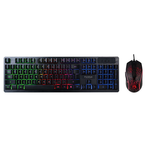 MARVO KM408 Lighting Keyboard and Mouse Combo