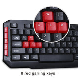 MARVO KW529 2.4GHz Wireless Keyboard and Mouse Combo