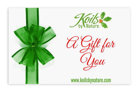 Koils by Nature Gift Cards