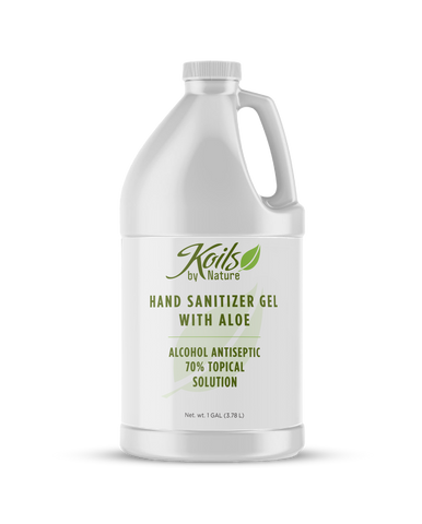 Hand Sanitizer Gel with Aloe - 1 Gallon
