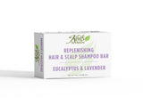Replenishing Hair and Scalp Shampoo Bar Eucalyptus and Lavender