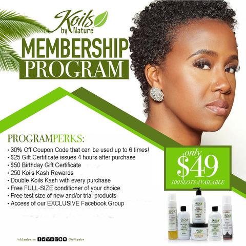 Koils by Nature VIP Program 2019-20