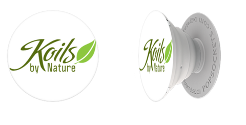 Koils by Nature PopSocket Side View
