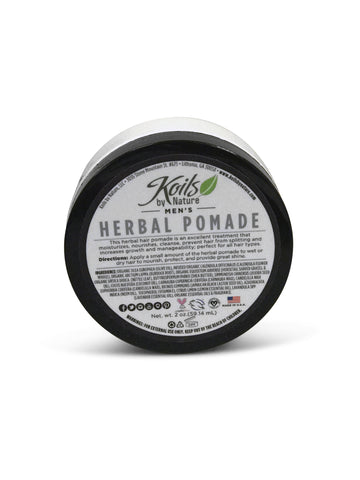 Men's  Moisturizing Herbal Hair Pomade