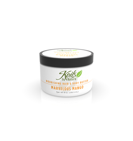 Nourishing Hair and Body Butter Marvelous Mango