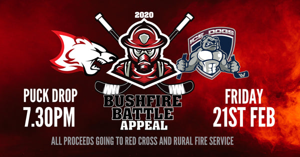Bushfire Battle Appeal Charity Game - Friday, Feb 21