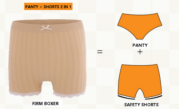 Boxer Woman Set 3 PAX