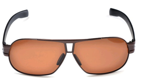 Polarized Sunglasses Anti Dazzle for Car Driving Specs  - Coffee