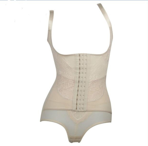Slimming Body Corset Style 3 Beige - Monkey Skirts - 3