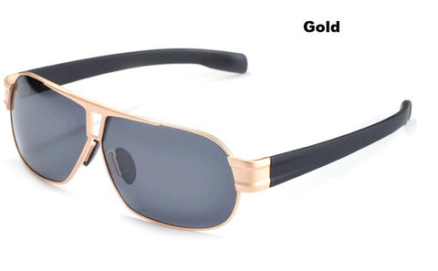 Polarized Sunglasses Anti Dazzle for Car Driving Specs  - Gold