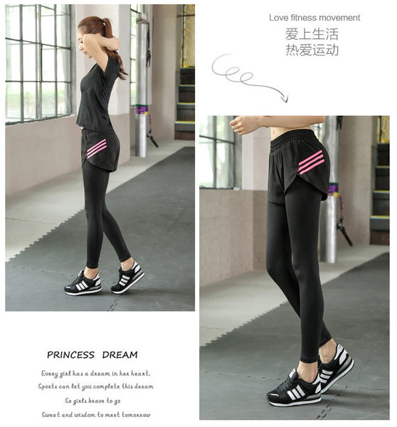 Zumba Pants Stretchable Breathable Style 6 Purple