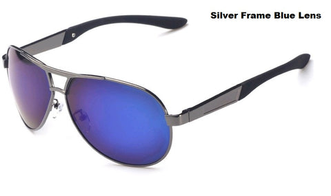 Polarized Sunglasses Anti UV Dazzle Specs  - Blue Lens