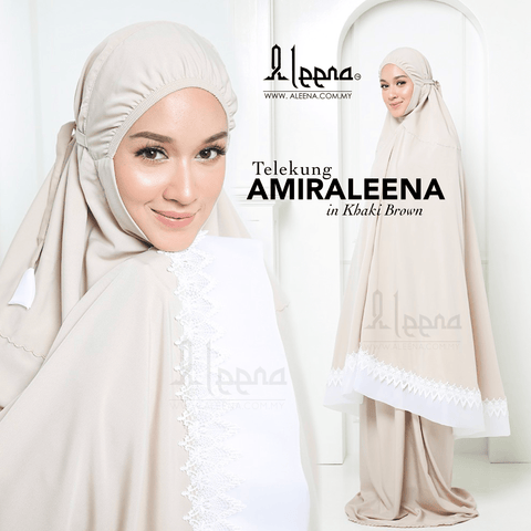 Amiraleena Khaki Brown