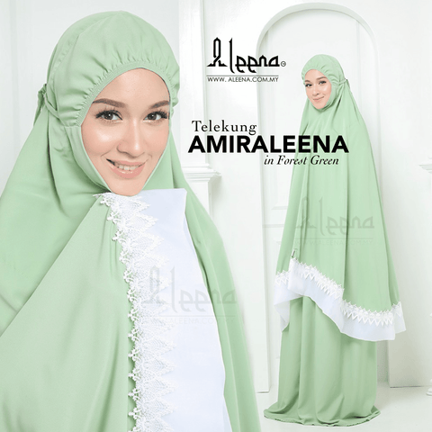Amiraleena Forest Green