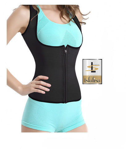 Slimming Body Corset Sporty Style 11 Black