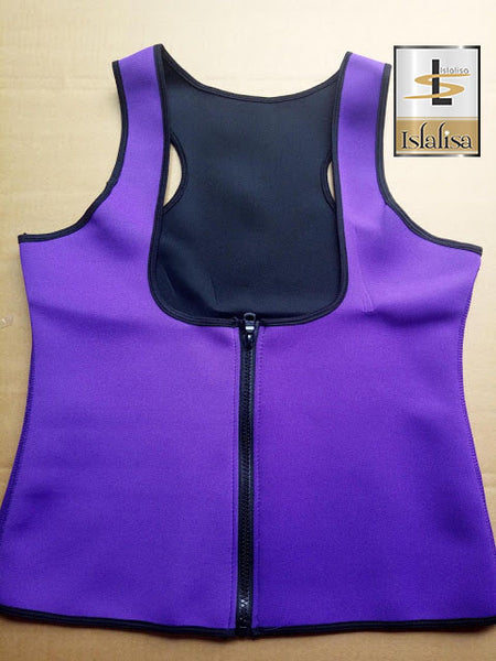 Slimming Body Corset Sporty Style 11 Purple
