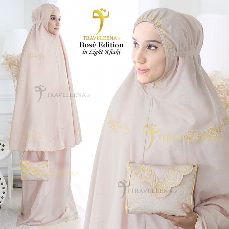 Traveleena Rose Light Khaki