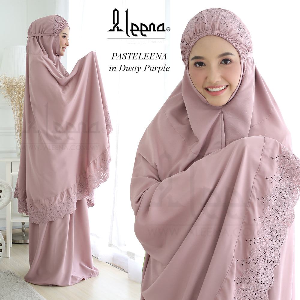 Telekung Pateleena Dusty Purple