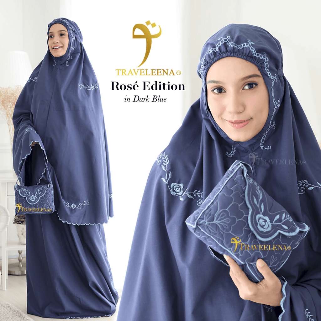 Traveleena Rose Dark Blue