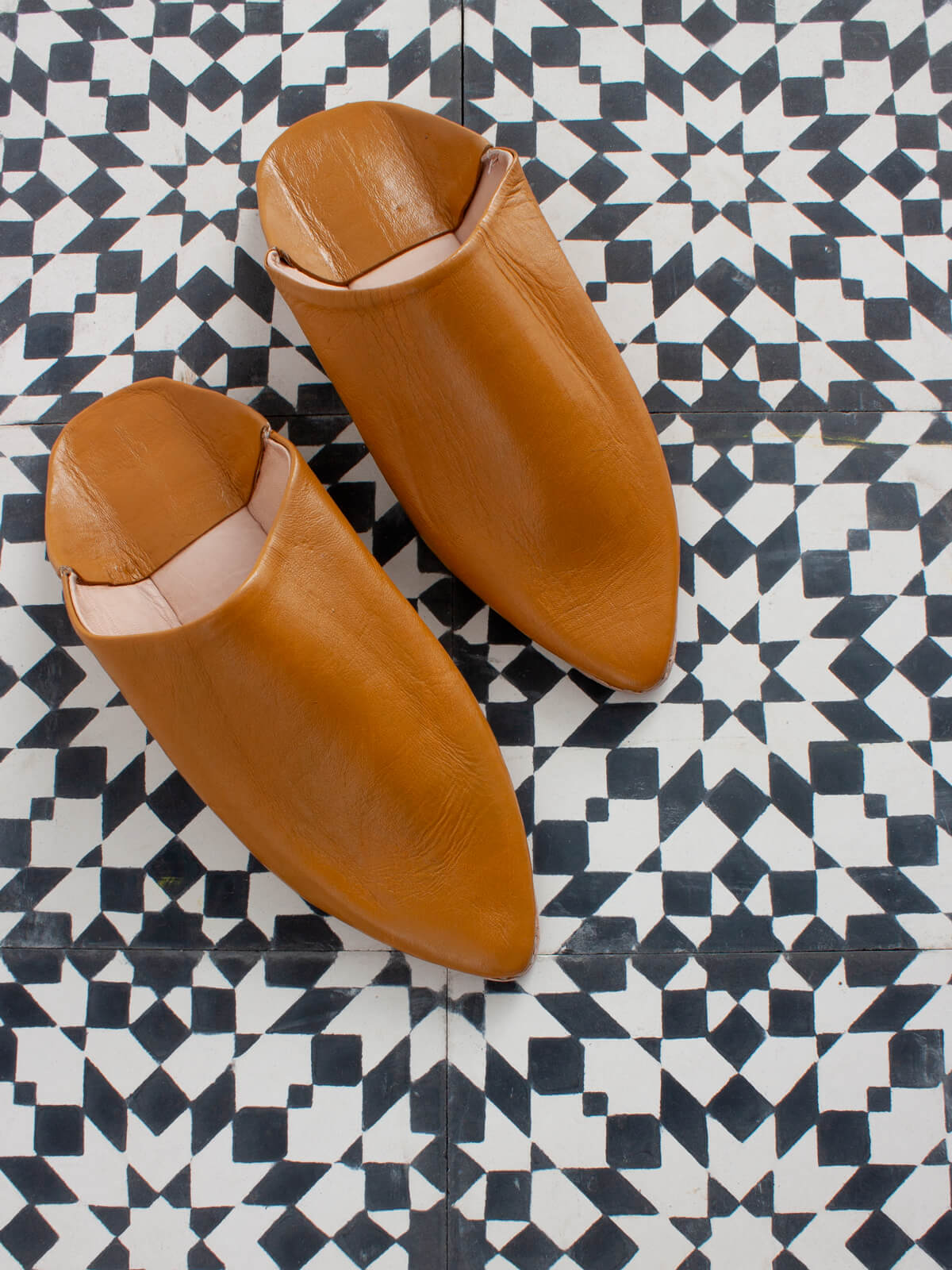 Bohemia Classic Pointed Babouche Mustard