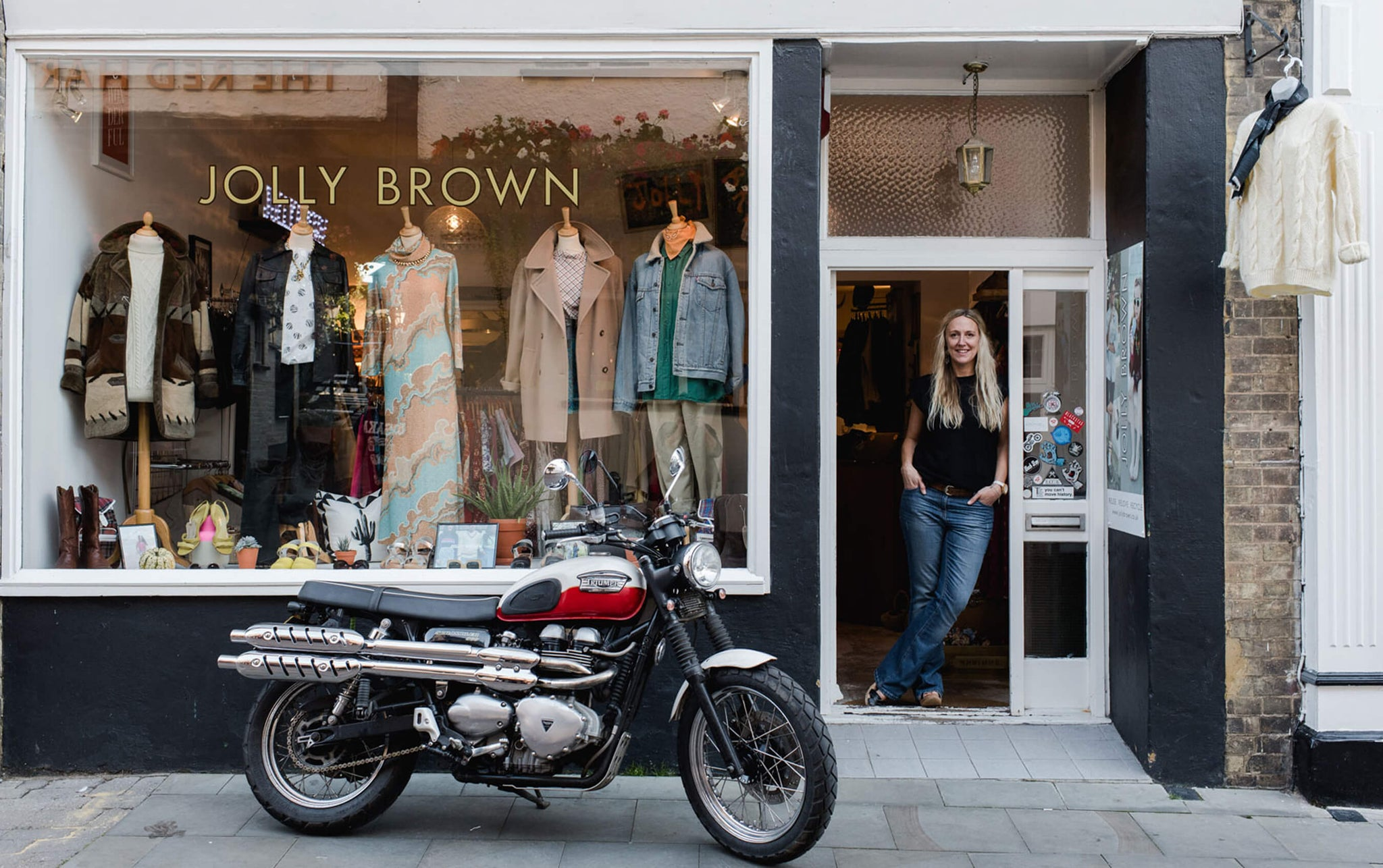 Bohemia Stockist Jolly Brown Vintage
