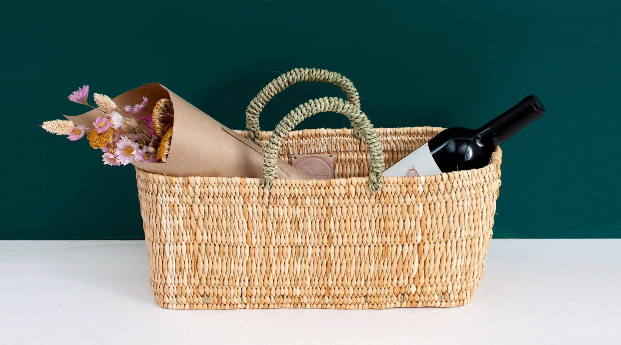 Reed Storage Basket Gift Hamper