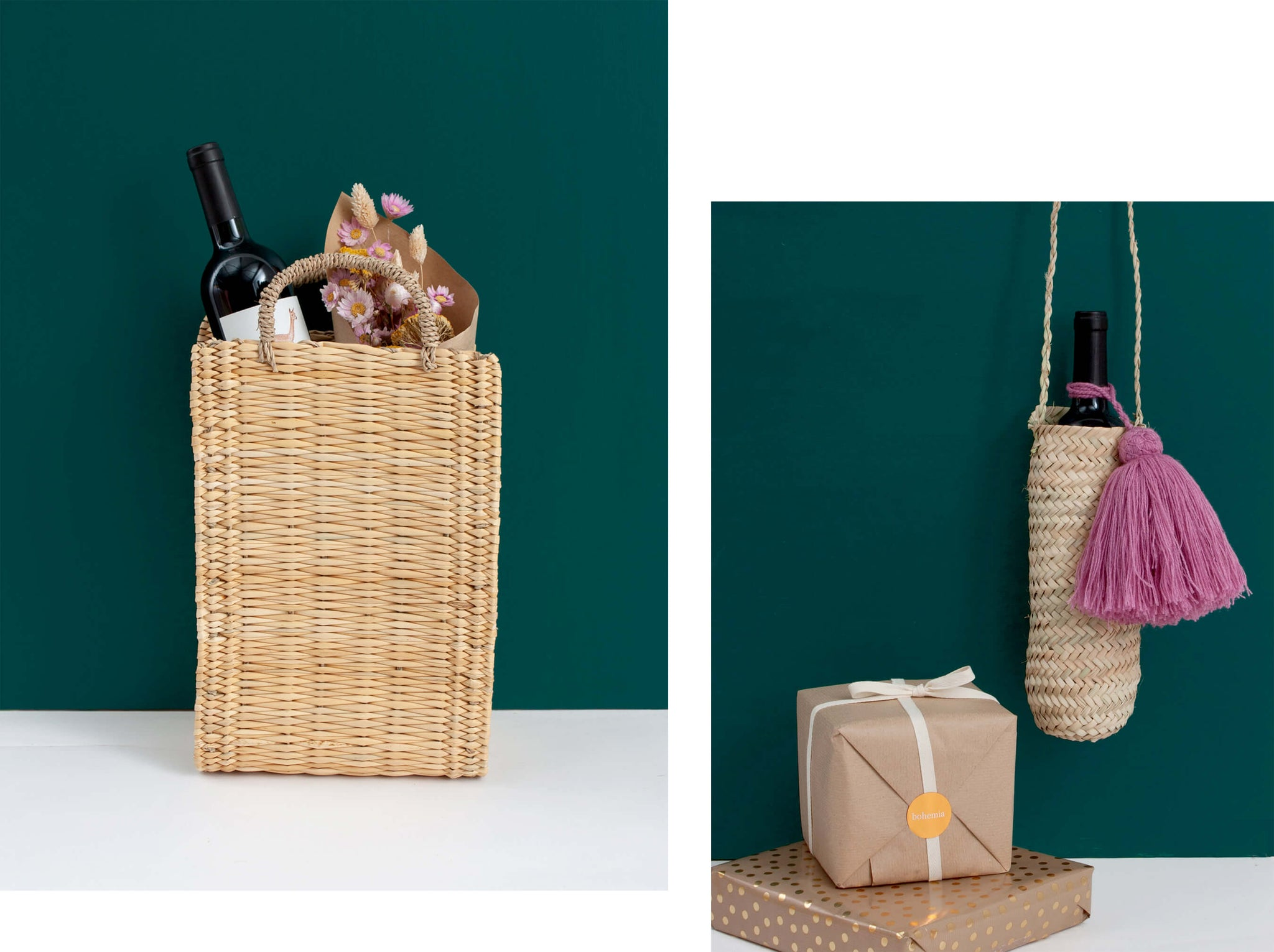 Reed Box Basket Gift Hamper