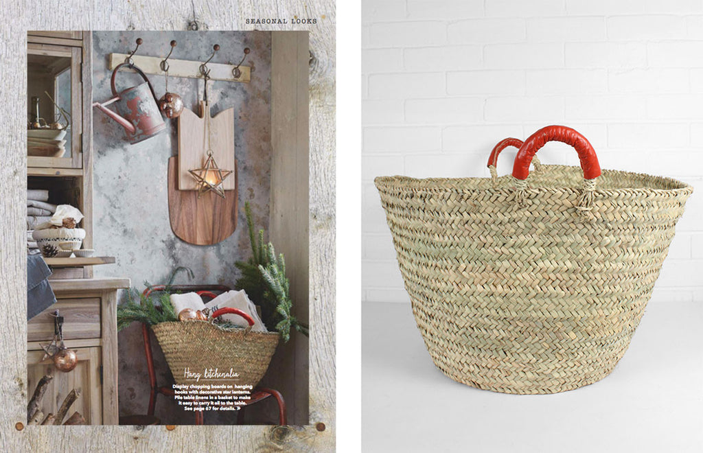 Bohemia Orange Beldi Basket