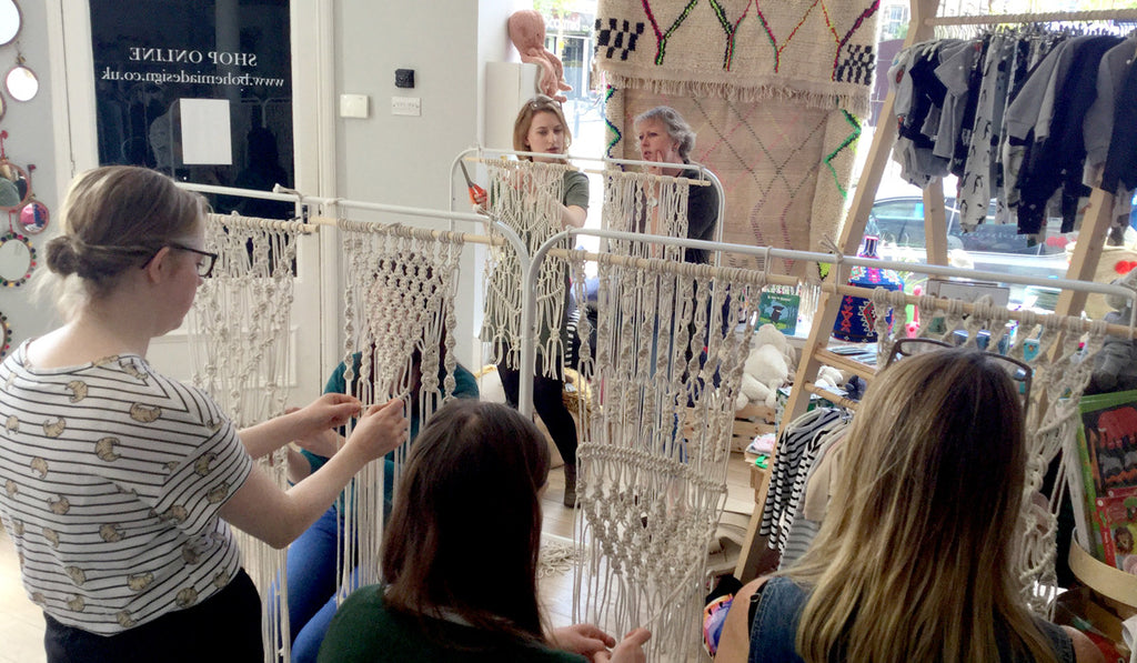 Oh So Hygge Macrame Workshop